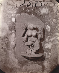 Sculptured slab from one of the temple at Deo Baranark 1003468